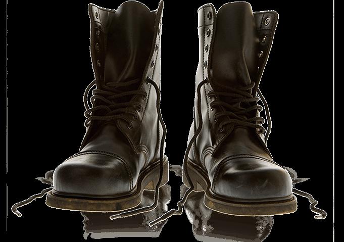 Open Combat Boots