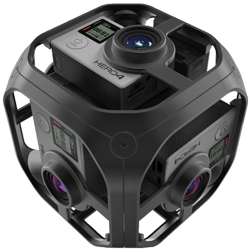 GoPro Hero 4 360 Camera