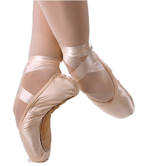 Ballet Shoes on Tips