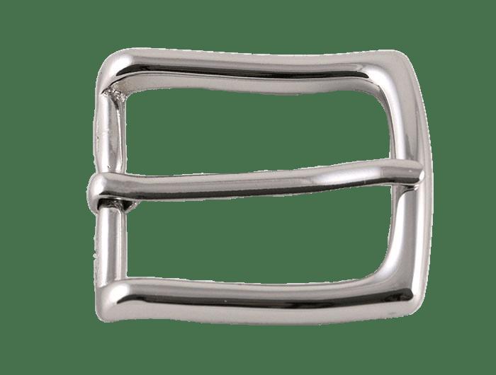 Shiny Silver Belt Buckle