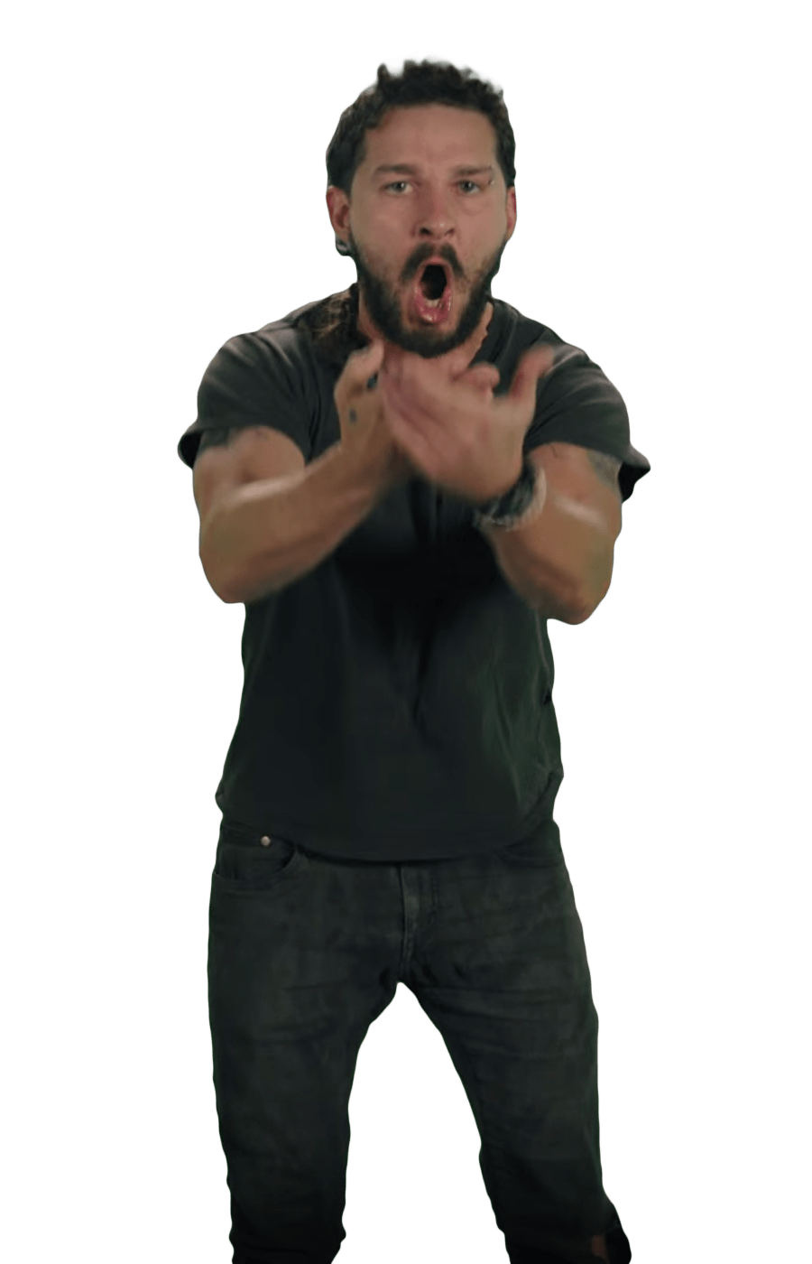 Just Do It Shia LaBeouf Angry