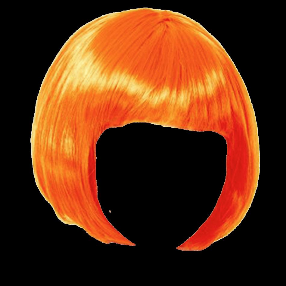 Wig Orange Bob