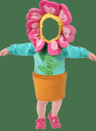 Costume Flower Pot