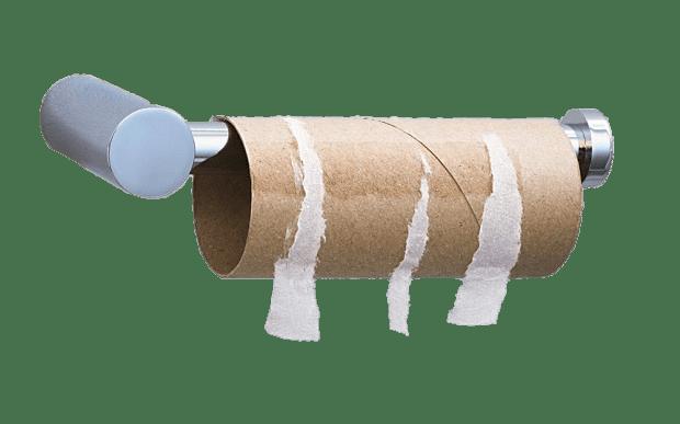 Toilet Paper Roll Empty