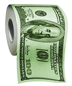 Toilet Paper US Dollar