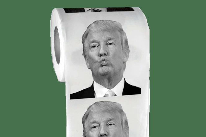Toilet Paper Donald Trump