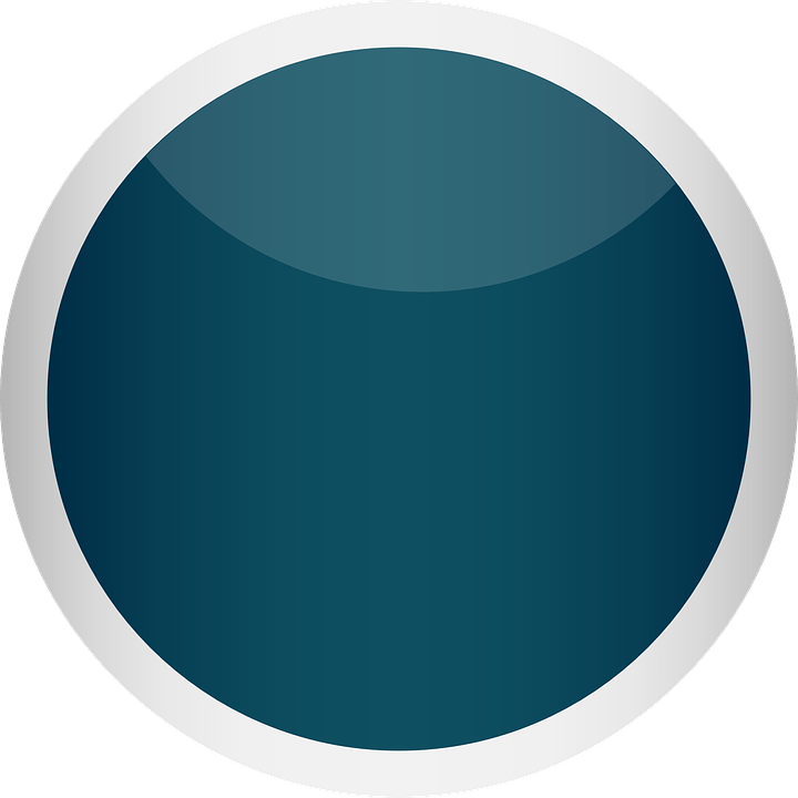 Blue Button With Grey Border