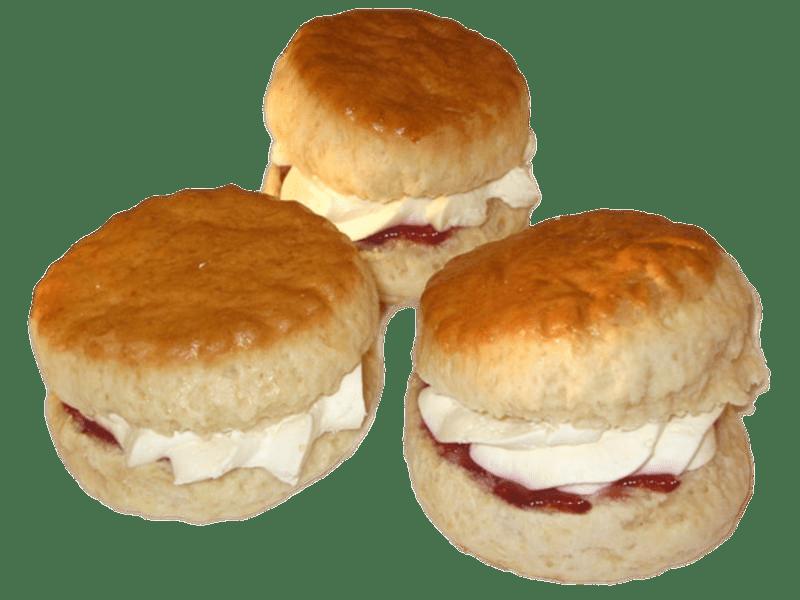 Scones Cream and Jam