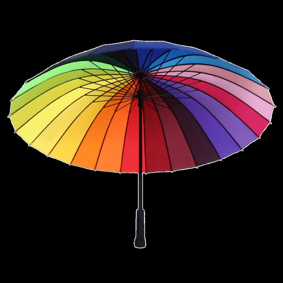 Parasol Rainbow Colours