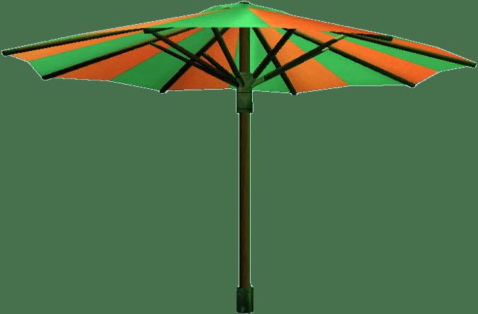 Parasol Green and Orange
