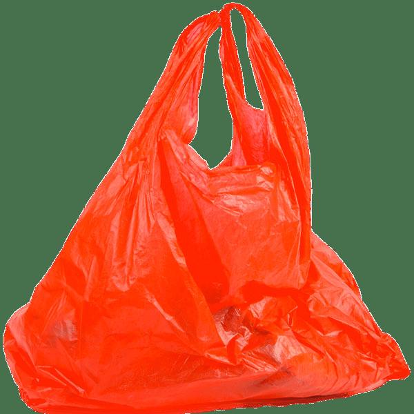 Plastic Bag Red