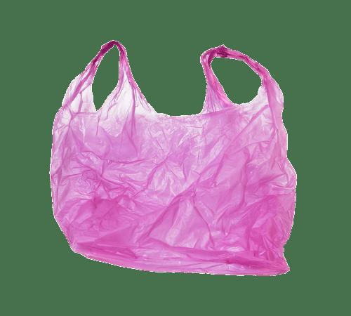 Plastic Bag Pink