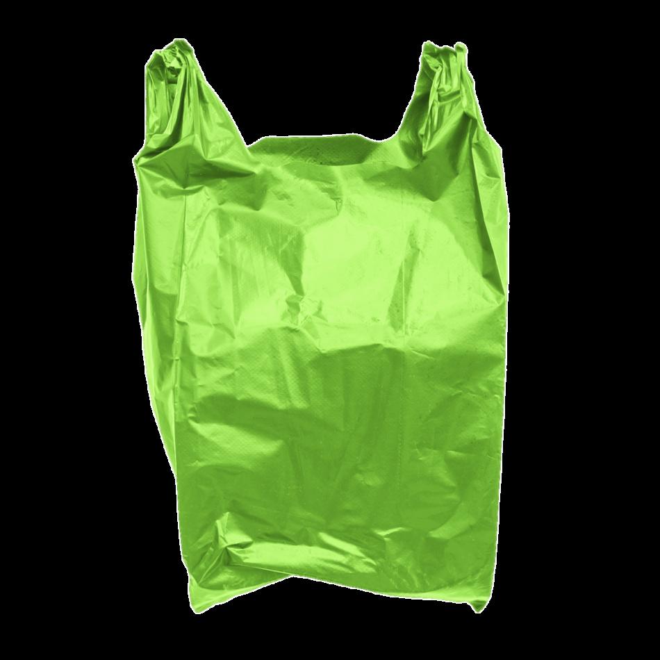 Plastic Bag Green