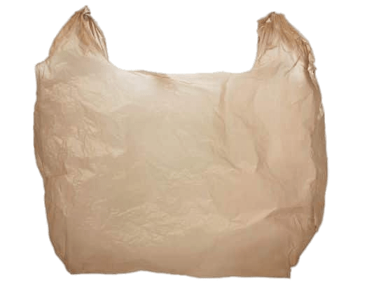 Plastic Bag Brown