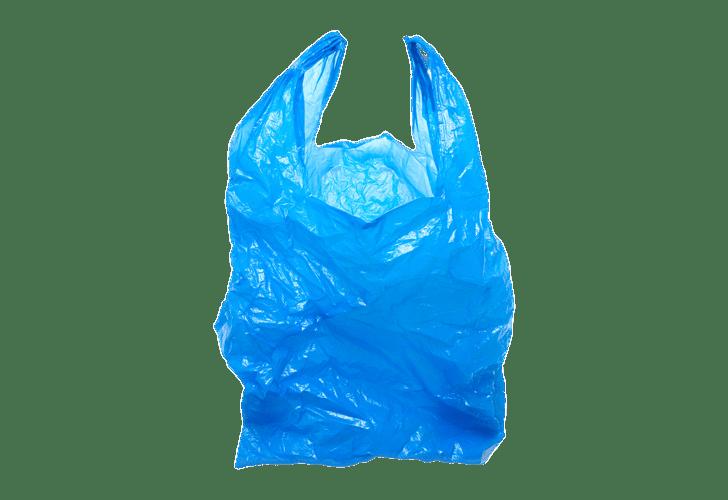 Plastic Bag Blue