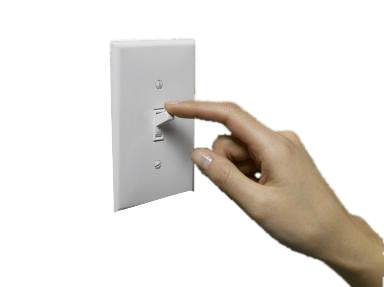 Light Switch and Hand Cut