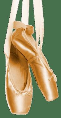 Ballet Shoes Hanging