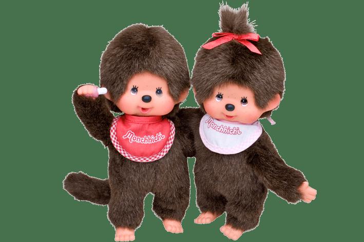 Monchhichi Boy and Girl