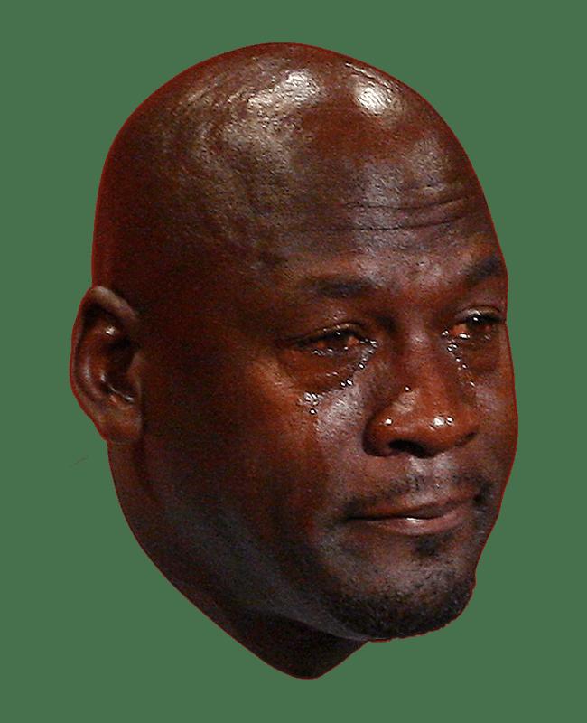Michael Jordan Crying Face