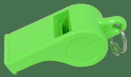 Whistle Neon Green Seron