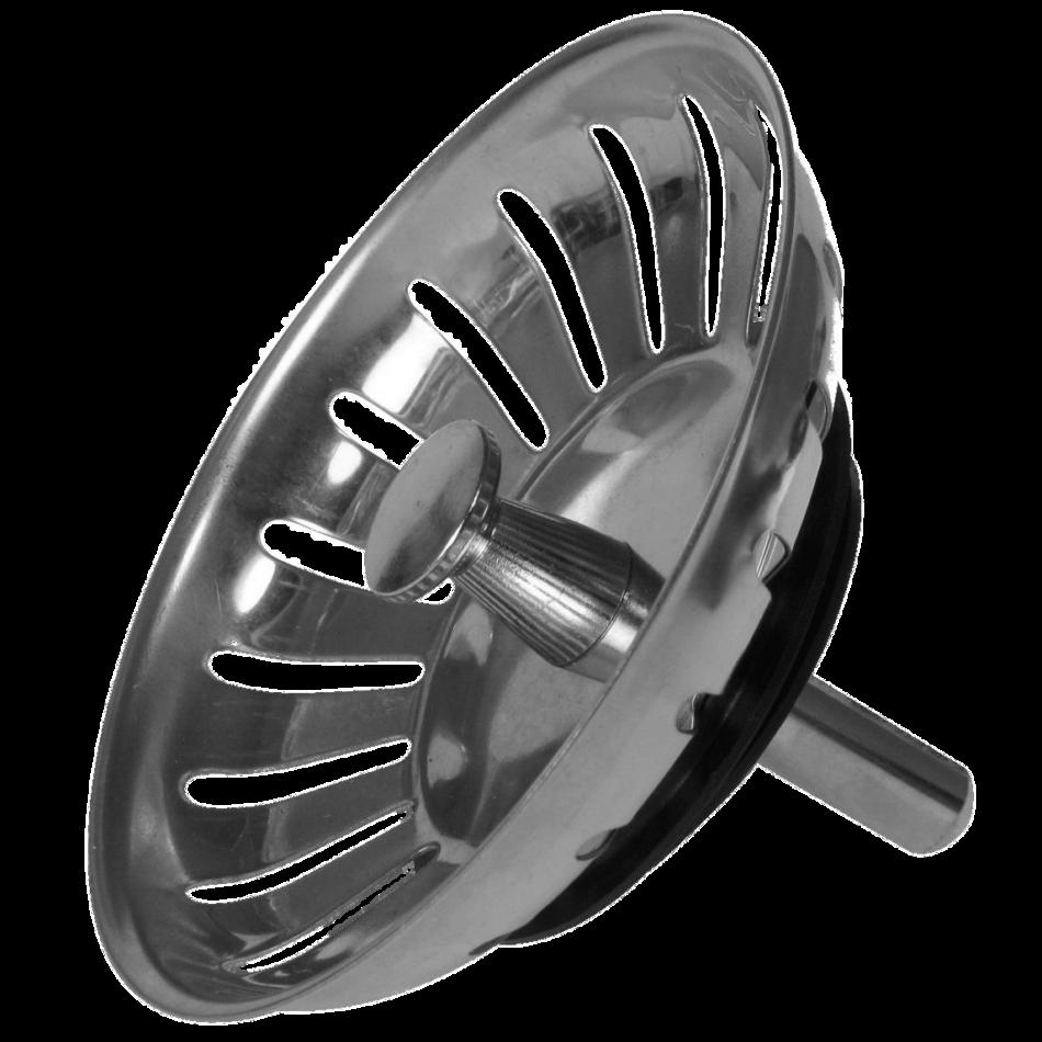 Sink Plug Modern Stainless Steel
