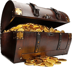 Small Open Treasure Chest