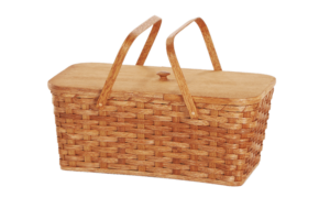 Picnic Basket With Two Handles