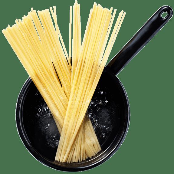 Spaghetti In Pot