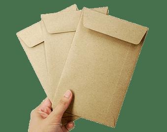 Envelopes In Hand