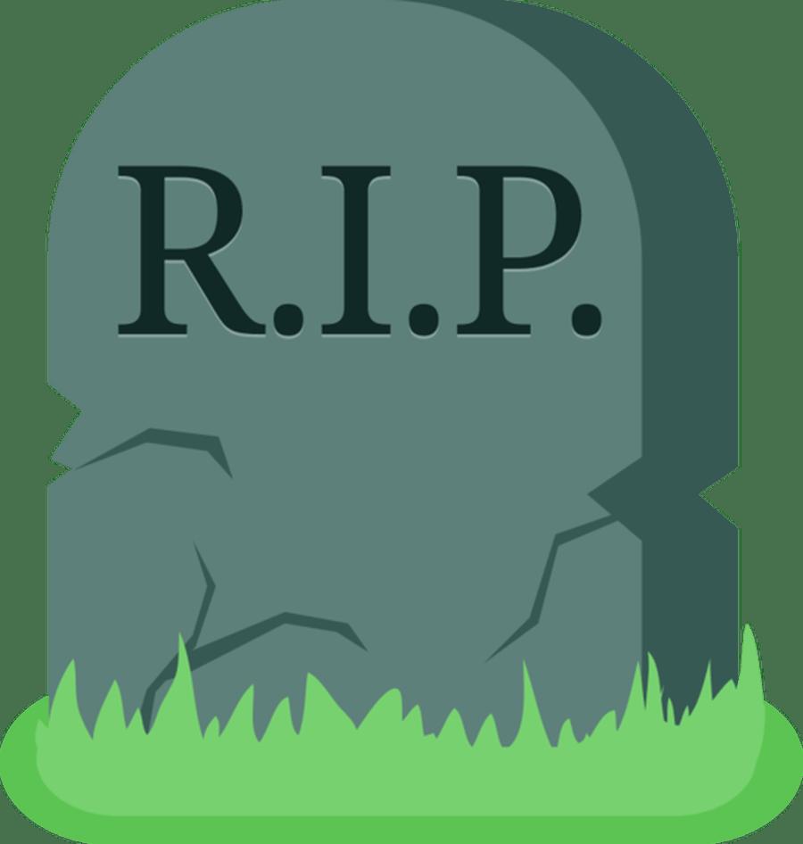 RIP Grave Clipart