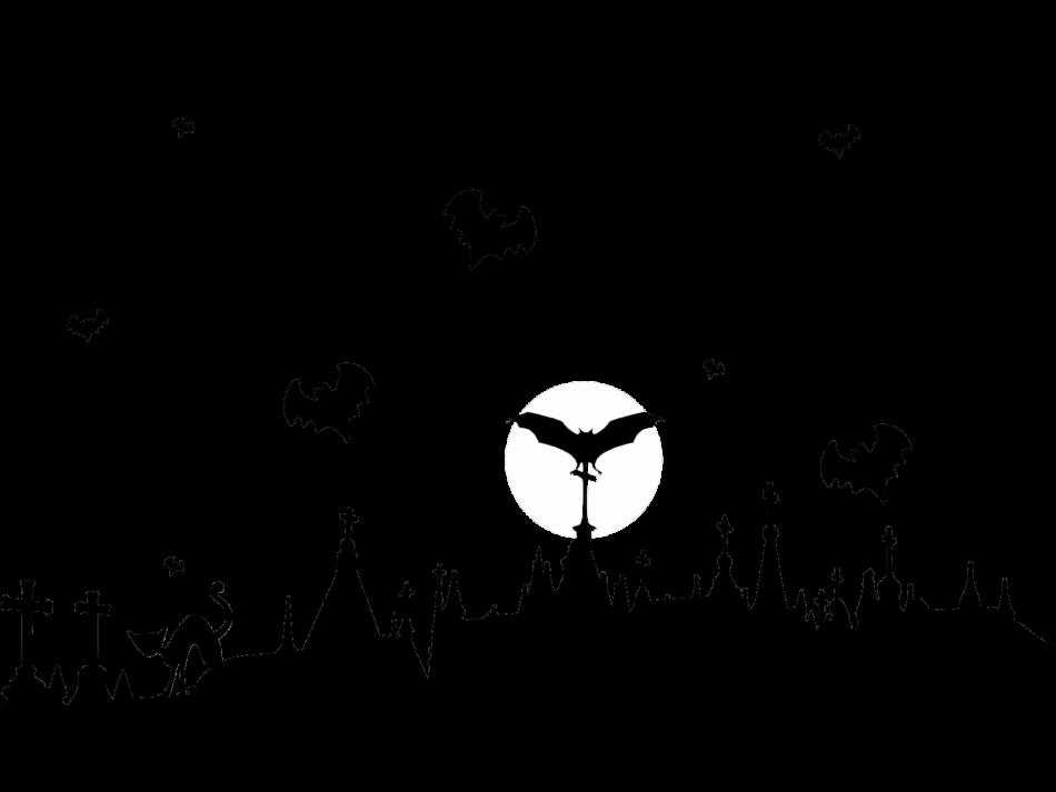 Graveyard and Flying Bats
