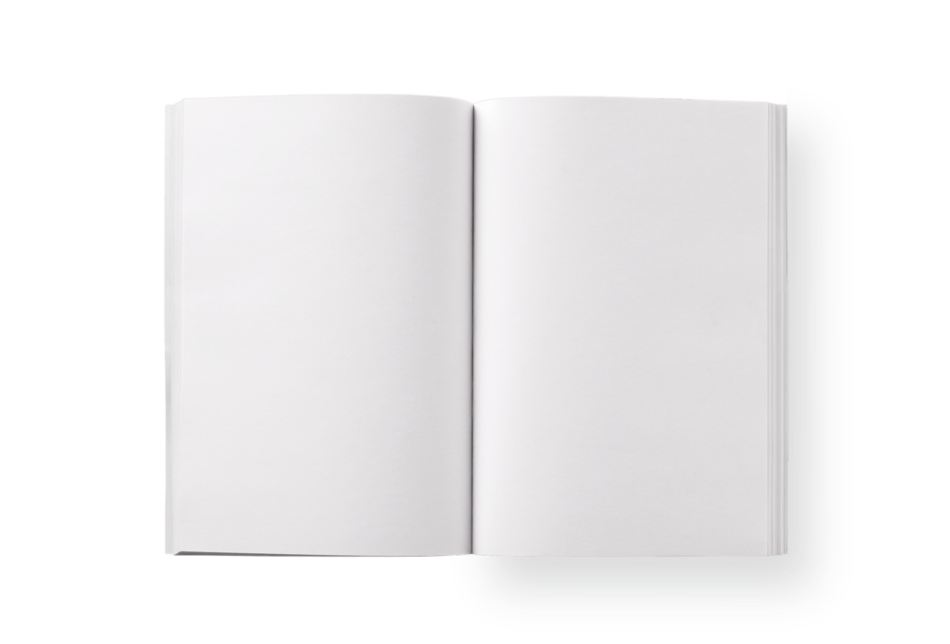 Blank Pages Notebook