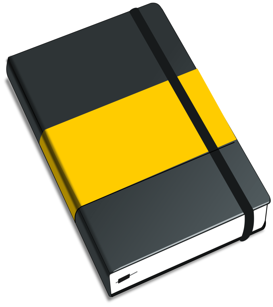 Yellow Black Moleskine
