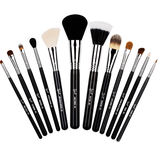 Range Of Makeup Brushes