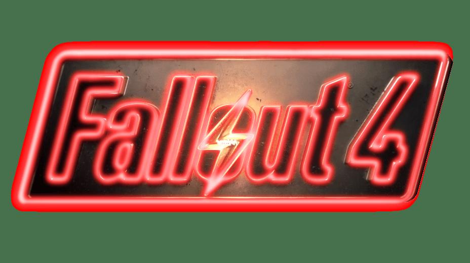 Fallout 4 Neon Logo