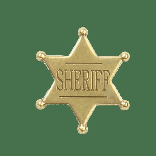 Sheriff's Tip Star Badge