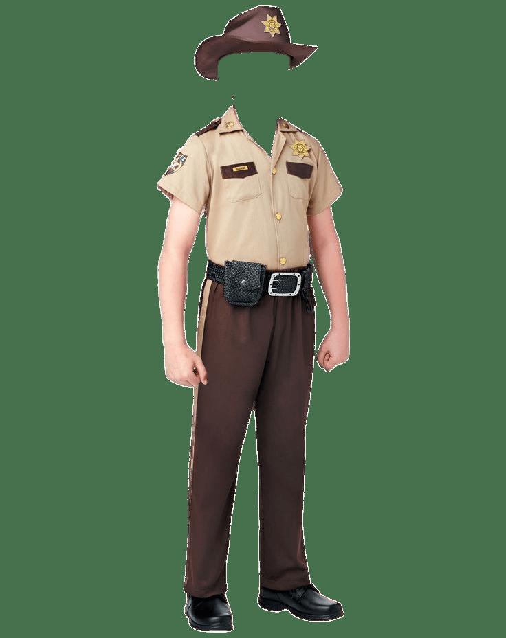 Sheriff's Costume Kids