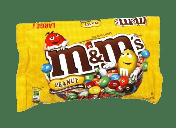 M&m's Chocolate Peanut Bag