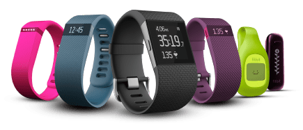 Collection Of Fitbit Devices