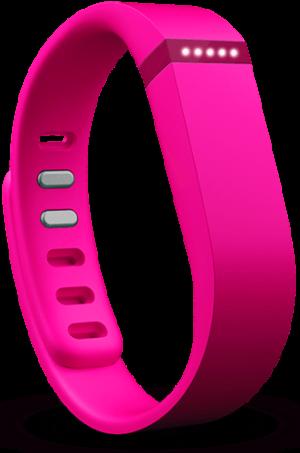 Pink Fitbit Flex