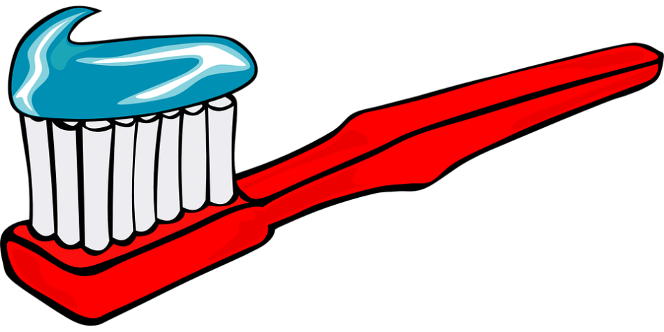 Red Toothbrush Clipart