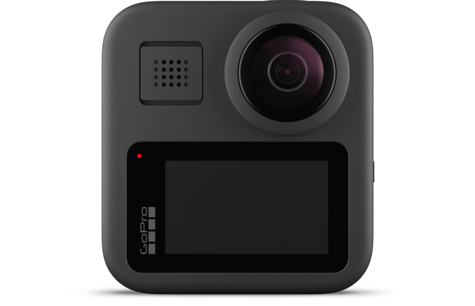 GoPro Max - Waterproof 360 Digital Action Camera, back screen