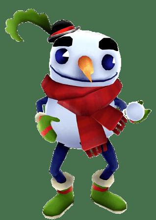 Subway Surfers Buddy the Snowman