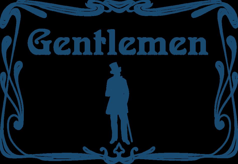 Classic Toilet for Gentlemen Icon