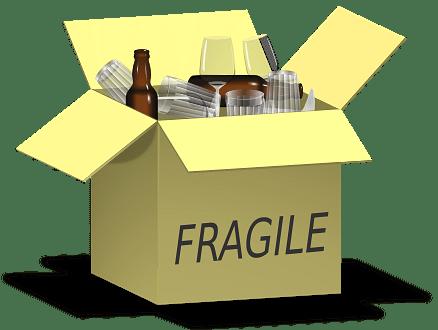 Cardboard Box Fragile